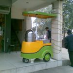 Steam Corn Cart for Point of sale