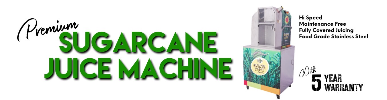 Premium Sugarcane juice machine