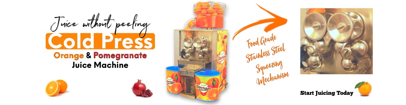 Orange & Pomegranate Juice machine
