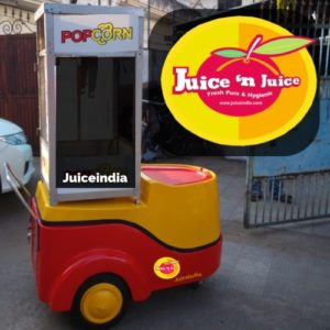 Push Cart with popcorn machine