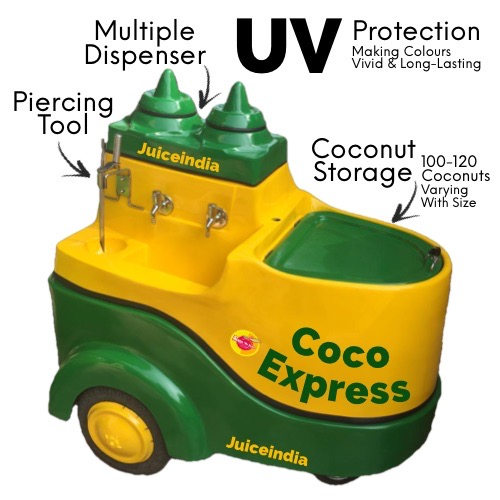 coconut water cart - coco express classic multiple