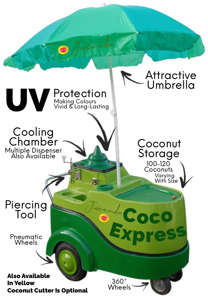 coconut water cart - coco express classic