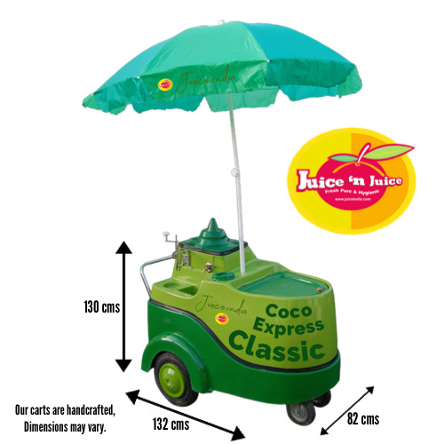 coconut water cart - coco express classic size