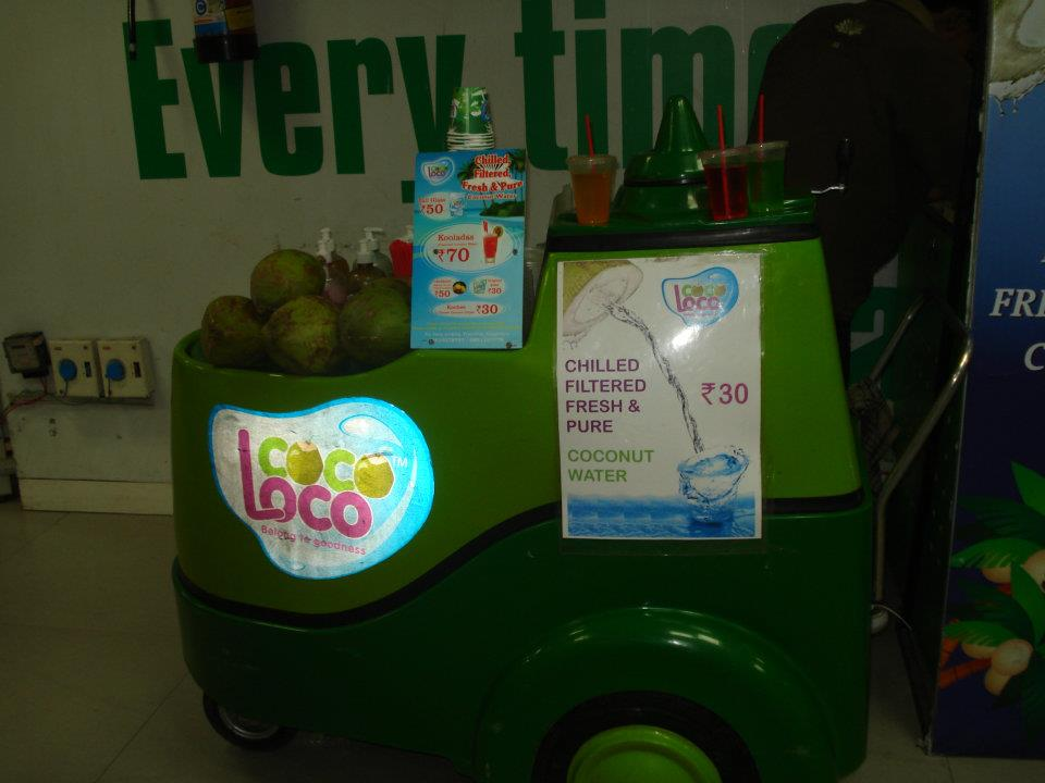Classic Coconut Water Cart